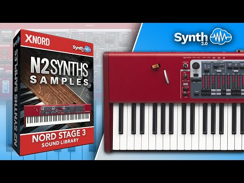 N2 SYNTH SAMPLES | COVER SOUND LIBRARY | NORD STAGE 3