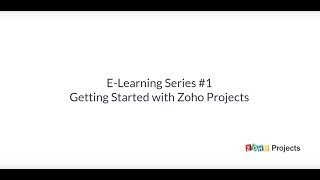 Zoho Projects video