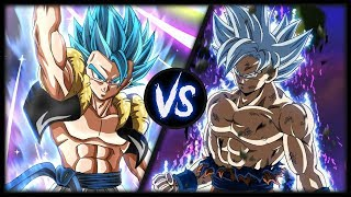 Mastered Ultra Instinct Goku vs Gogeta Blue - Who is Stronger!?
