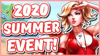 Overwatch - 2020 SUMMER GAMES EVENT EXPECTATIONS (Start Date, Life Guard Mercy, Gamemodes AND MORE)