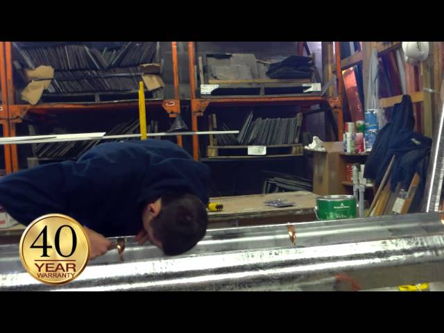 Bob Scribner, with G.F. Sprague is in the shop showing you how G.F. Sprague converts a wooden gutter into a...