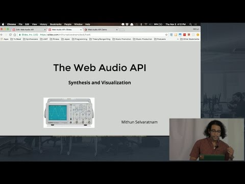 Build a Synthesizer and Frequency Analyser using… | Fullstack Academy