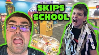 Kid Temper Tantrum Skips First Day Of School Goes To Chuck E Cheese [Original]