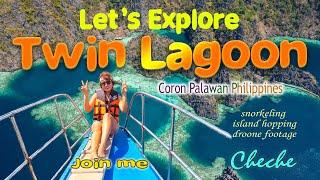 Twin Lagoon Entrance, Philippines
