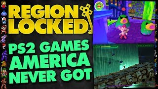 Two PS2 Games America Never Got: Poinie's Poin & ChainDive - Region Locked Ft. Greg (PlayStation 2)