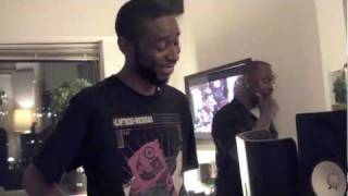 Cinematic TV: Big K.R.I.T. & 9th Wonder In The Studio