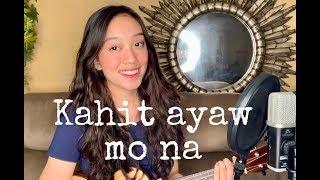 Kahit ayaw mo na by This Band Ukulele cover by Fatima Lagueras