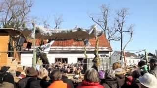 preview picture of video 'Faschingsumzug 2013 des Burschenvereins Ismaning'