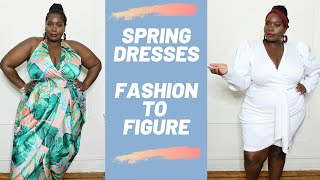 Must Have Plus Size Spring Dresses From Fashion To Figure/Try On Haul