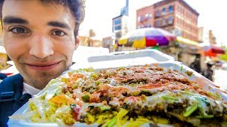 LIVING on STREET FOOD for 24 HOURS in NYC! - Video Youtube