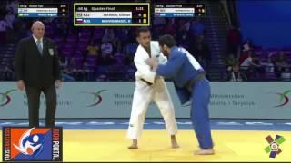 European Judo Championships Warsaw 2017 -60kg SAFAROV Orkhan (AZE) vs. MSHVIDOBADZE Robert (RUS)