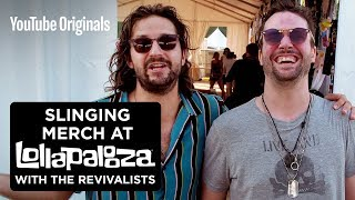 Slinging Merch with The Revivalists