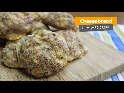 Video recipe: Cheese bread | Low Carb Breads #8
