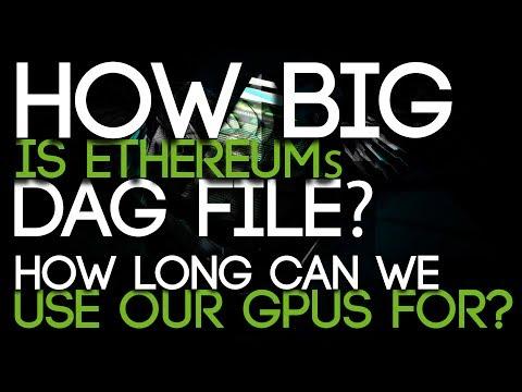 DAG : Les cartes graphiques pour le mining et la RAM