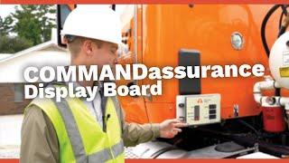 Ready Mix Truck Displays Slump | COMMANDassurance