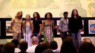 Sasha Allen and cast sing 'Aquarius' from HAIR
