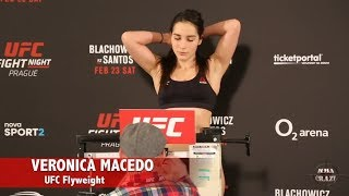 UFC Fight Night Prague Official Weigh in Highlights
