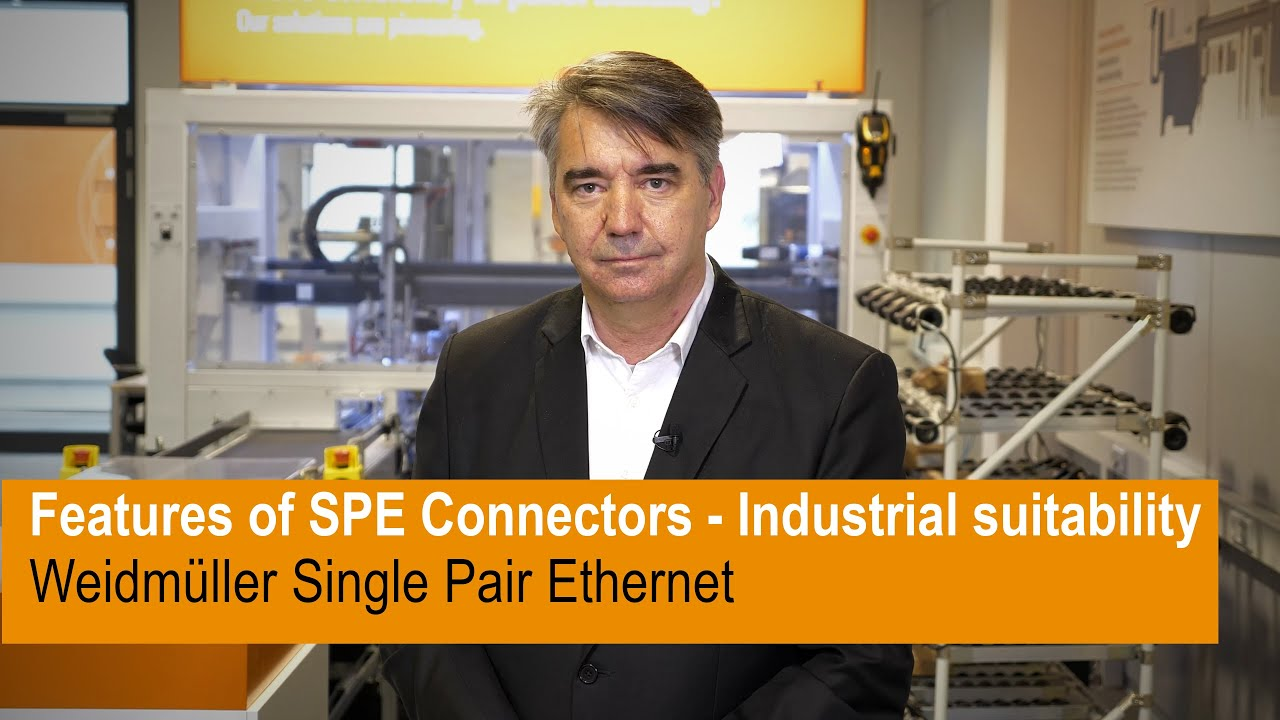 Features of SPE Connectors - Industrial suitability