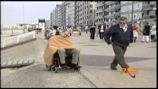 Just for Laughs Gags Wheel chair on the loose