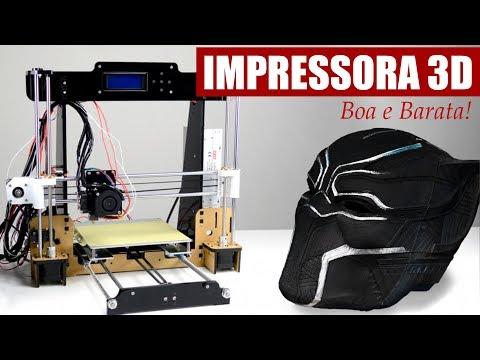 IMPRESSORA 3D BARATA E BOA! ANET A8