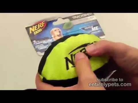 """Nerf Dog Retriever Football - 7"""" (Assorted) Video"""