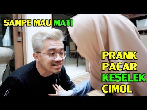 PRANK PACAR KESELEK CIMOL SAMPE MAU MATI ! MEIRA PANIK PARAH !