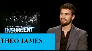 Theo James Jokes About A Dildo + Playing Transgender, Insurgent, Divergent, Interview, Shailene