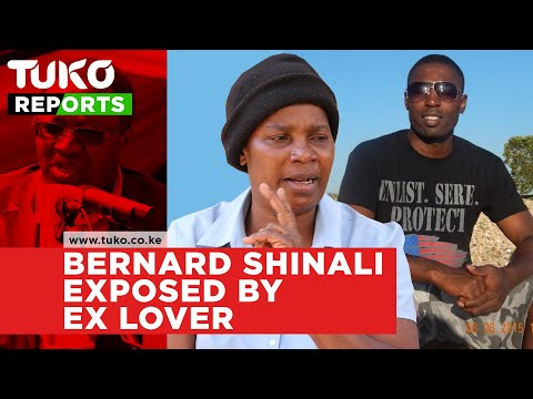 Ikolomani Mp Bernard Shinali exposed by ex lover | Tuko TV