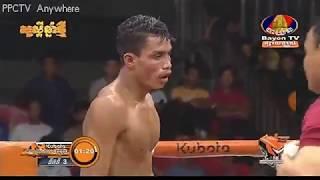 ចាន់ ប៊ុនហឿន vs ឈោក ឆៃ(ថៃ), Bayon Kun Khmer Boxing 05/04/2019