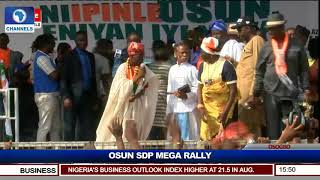 Omisore Woos Residents As SDP Holds Mega Rally In Osun Pt.12 |Live Event|