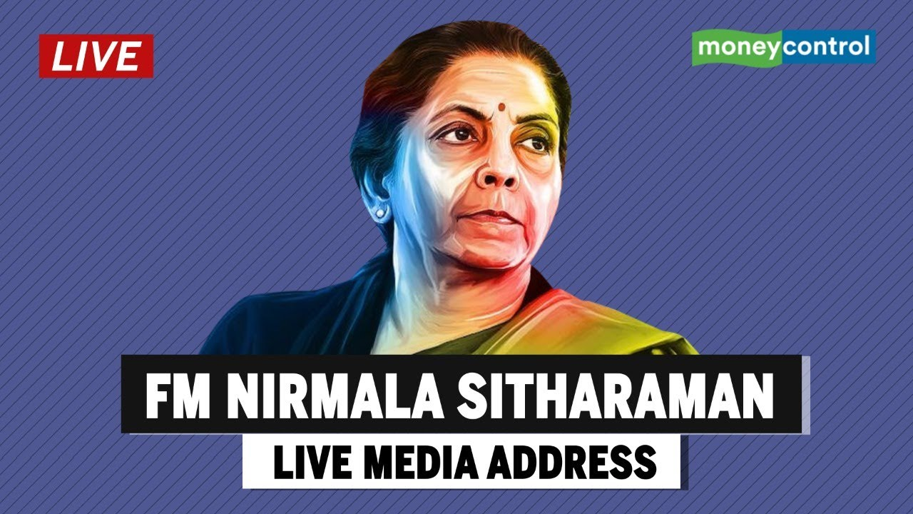 Financing Minister Nirmala Sitharaman Live Media Address; Economic Relief Likely thumbnail