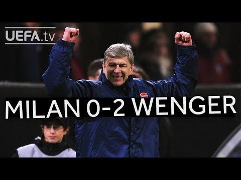 WENGER'S GREAT VICTORIES: Milan 0-2 Arsenal