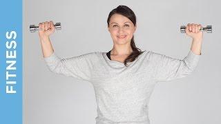 Fit in den Sommer - Ganzkörper Training mit Kurzhanteln - für Anfänger - Fit mit Anna - HD