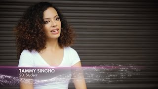 Tammy Singho finalist Miss Universe Malaysia 2017 Introduction