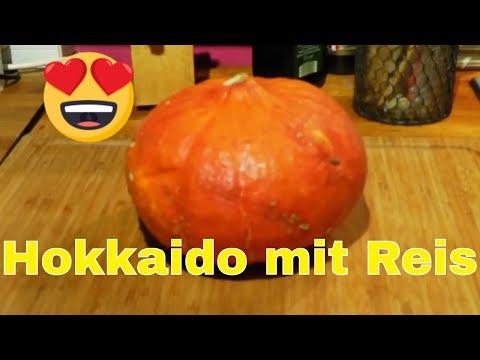 Nachgekocht - Hokkaido Kürbis mit Reis