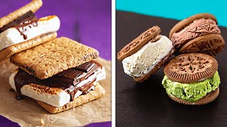 MARSHMALLOW VS. ICE CREAM    Simple And Sweet Homemade Food Recipes That You Will Love