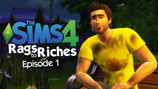 The Sims 4 - From HOMELESS to MILLIONAIRE! - Rags to Riches Challenge