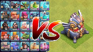 Clash Of Clans - ALL TROOPS IN THE GAME Vs. TH11!! | Noahs Ark Attack! | (Troll Attack vs. TH11)