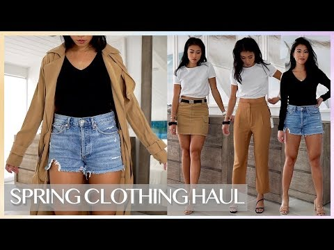 MANGO & MINI NORDSTROM CLOTHING TRY ON HAUL | Spring Summer 2019