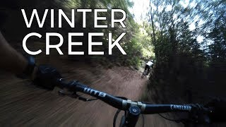 Big Descent on Winter Creek Trail - Mt Wilson - Shuttles with SCOA