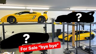 SELLING HALF OF MY SUPERCAR COLLECTION…