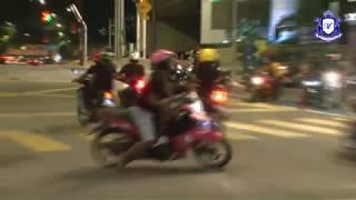 MKL Crimedesk | AKSI Mat Rempit Tidak SERIK Lawan Arus Elak Roadblock