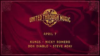 Kungs, Nicky Romero, Don Diablo, Steve Aoki - Live @ Tomorrowland United Through Music Week 2 2020