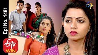 Naa Peru Meenakshi |  27th  February 2020  | Full Episode No 1481 | ETV Telugu