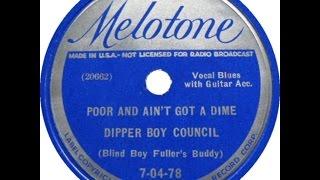 Floyd Council Acoustic Blues Guitar - Runaway Man Blues - Jim Bruce Cover
