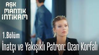 İnatçı ve Yakışıklı Patron: Ozan Korfalı - Aşk Mantık İntikam 1. Bölüm