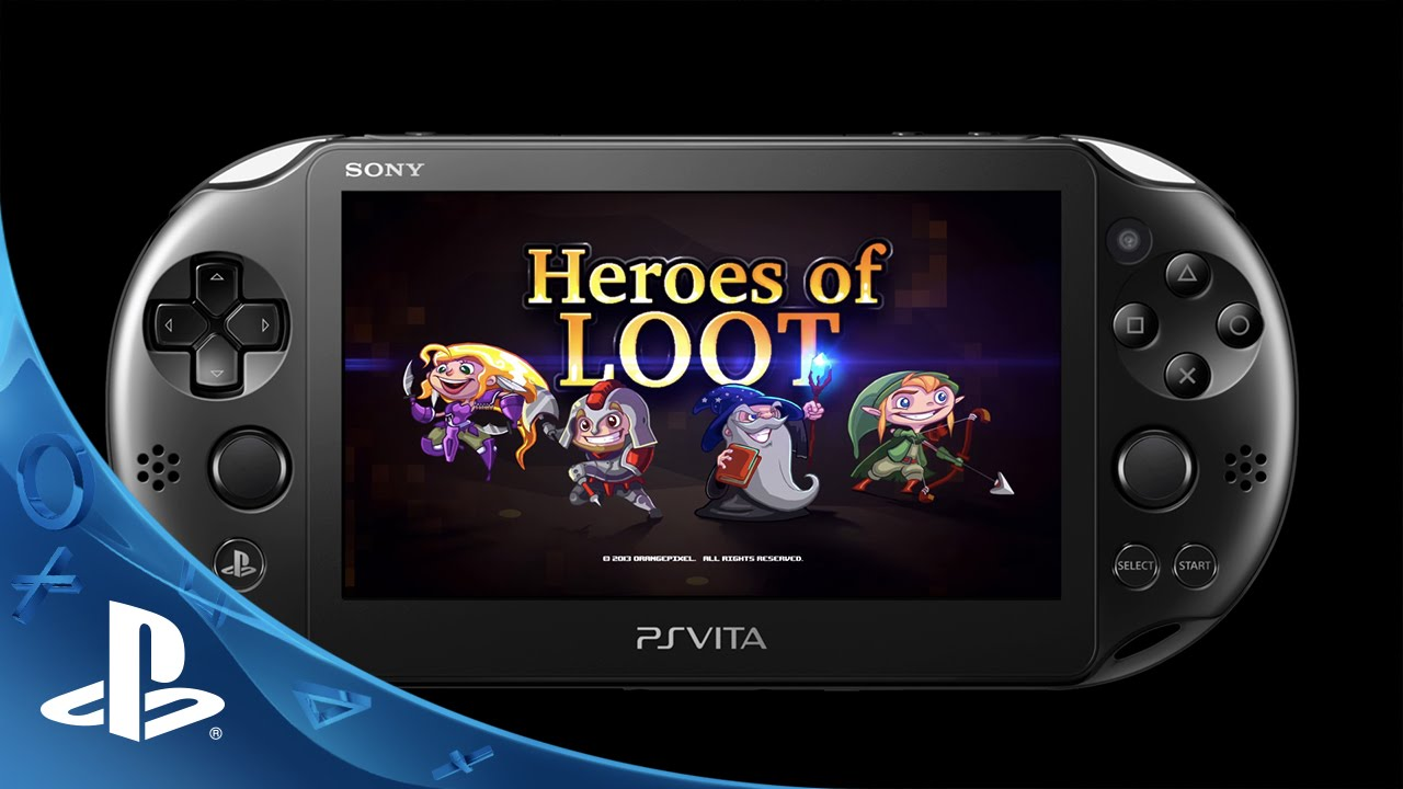 Heroes of Loot Coming to PS Vita on September 22nd