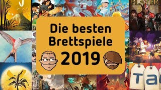Die Besten Brettspiele 2019   Unsere Top 3 Nach Kategorie