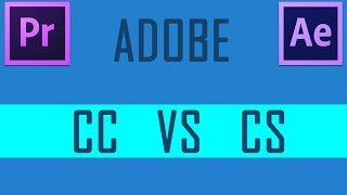 ADOBE CS VS CC