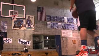 In the Gym with Kelsey Plum